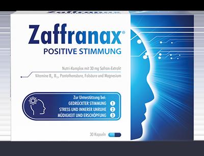 Zaffranax® für positive Stimmung